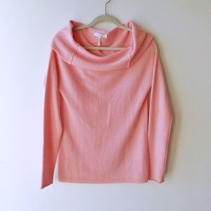 Merino wool /cashmere Off-the-Shoulder Sweater